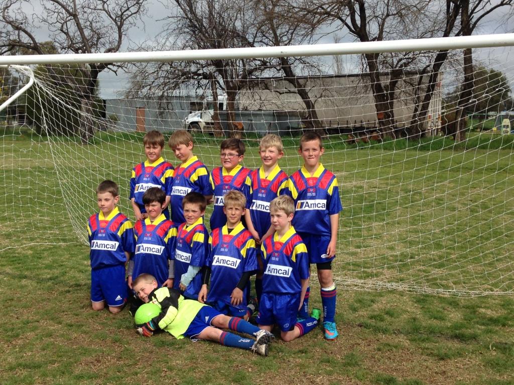 U9 Lachlan Cup team 2015